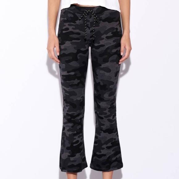 4284c040583180 Sundry Pants | Camo Kick Flare Pant | Poshmark
